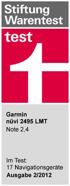 garmin n vi 2495lmt inkl lifetime update gps24. Black Bedroom Furniture Sets. Home Design Ideas